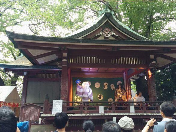 諏方神社 例大祭 お祭りです