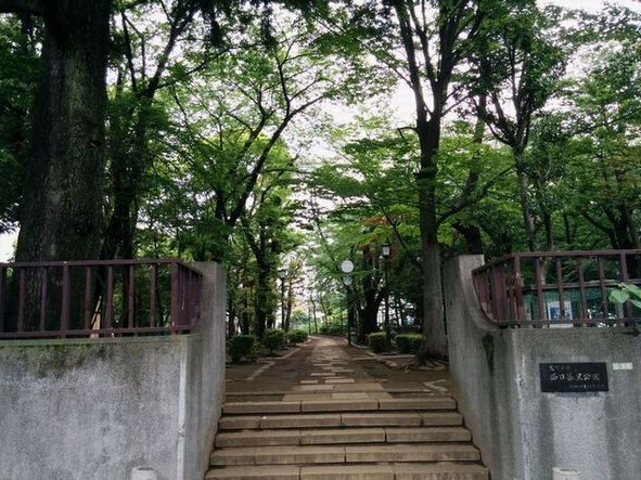 西日暮里公園(Nishinippori Park)